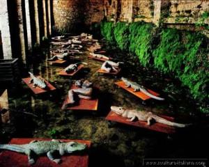 Mimmo Paladino - I Dormienti (Poggibonsi, Fonte delle Fate)