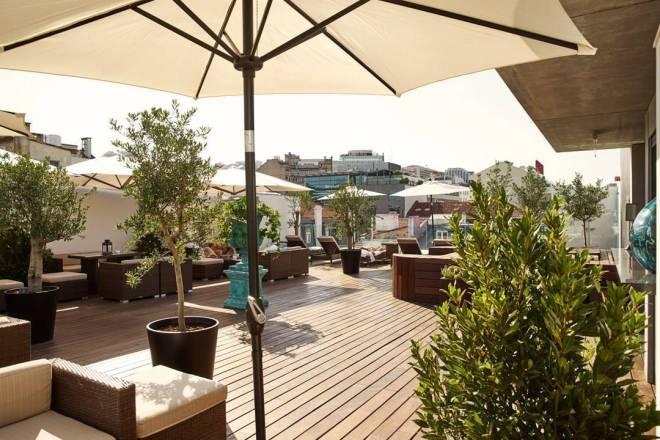 terrazze bar con vista lisbona
