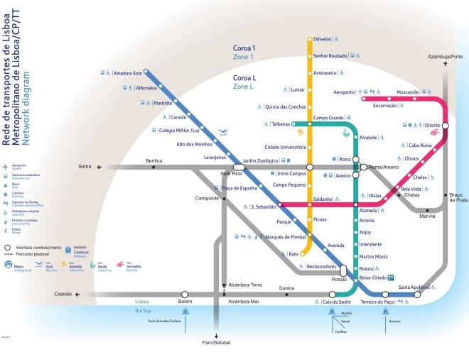 linee metropolitana lisbona