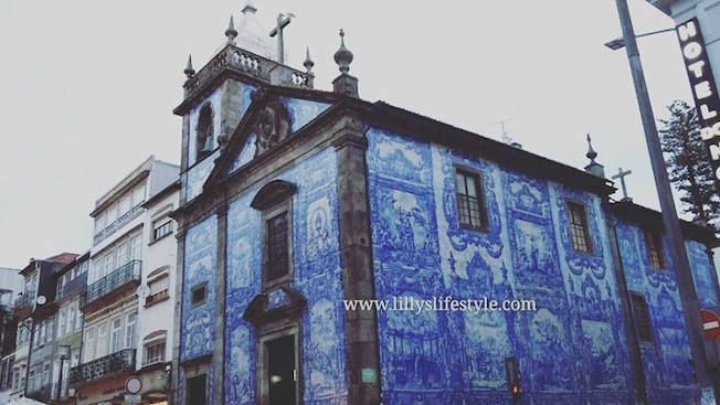 capela das almas oporto portogallo