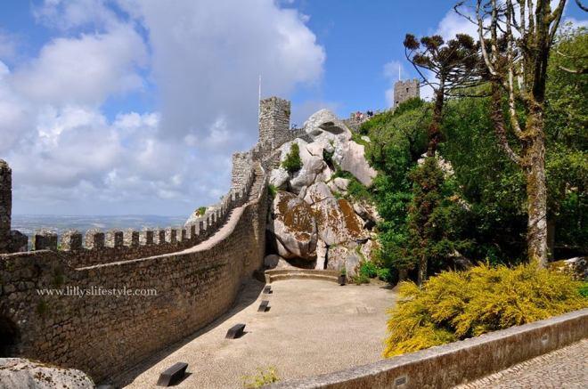 castelo-mouros-sintra portogallo
