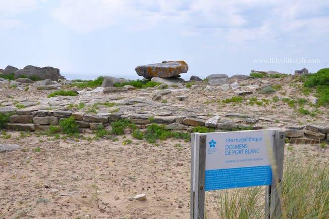 francia dolmen Quiberon- Côte Sauvage