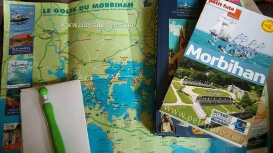 itinerario visita golfo di morbihan bretagna francia