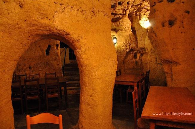 ristorante troglodita francia