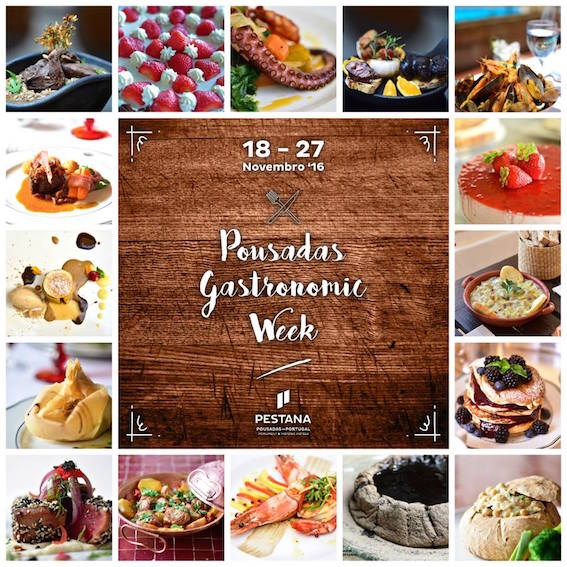 Pousadas gastronimic week 2016