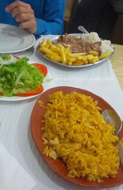 restaurante chafariz portel alentejo portogallo