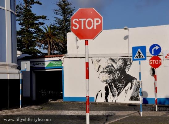 Eime street art são miguel azzorre
