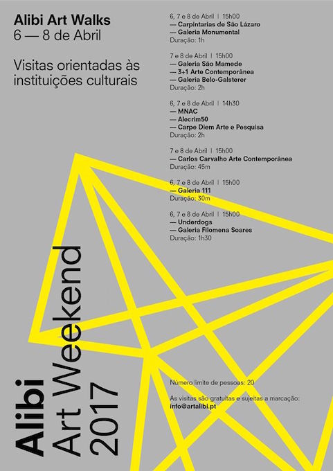 programma alibi art weekend lisbona
