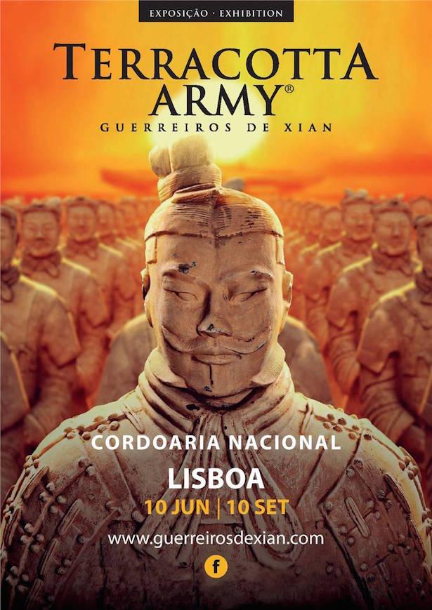 Terracotta Army, Guerreiros de Xian lisbona
