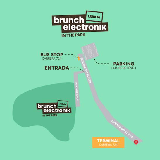 mappa brunch electronik lisbona