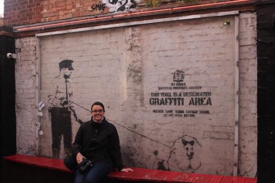 arte urbana londra cargo banksy