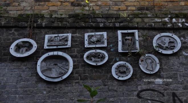 londra arte urbana canale