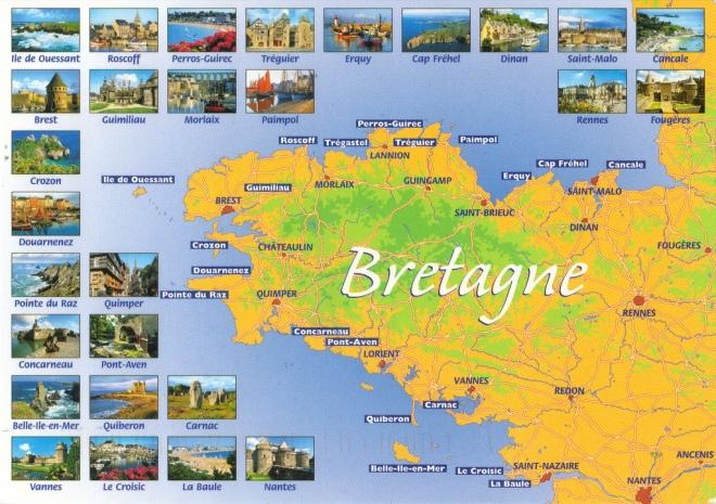 bretagna francia mappa