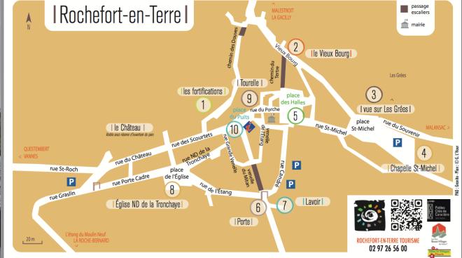 itinerario visita rochefort-en-terre