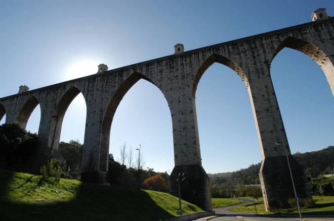 visita acquedotto lisbona