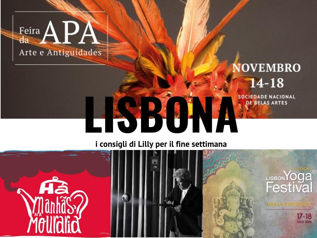 eventi fine settimana novembre 2018 lisbona