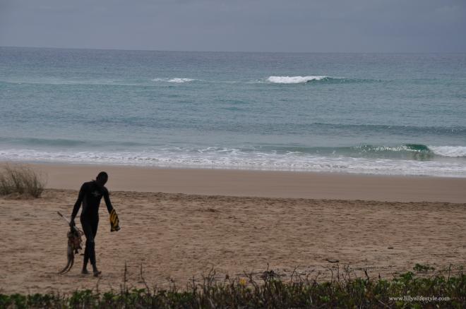 pescatori spiaggia tofo