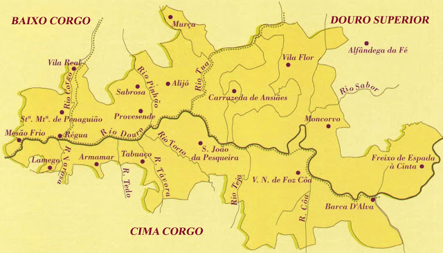 regione vinicola douro Portogallo