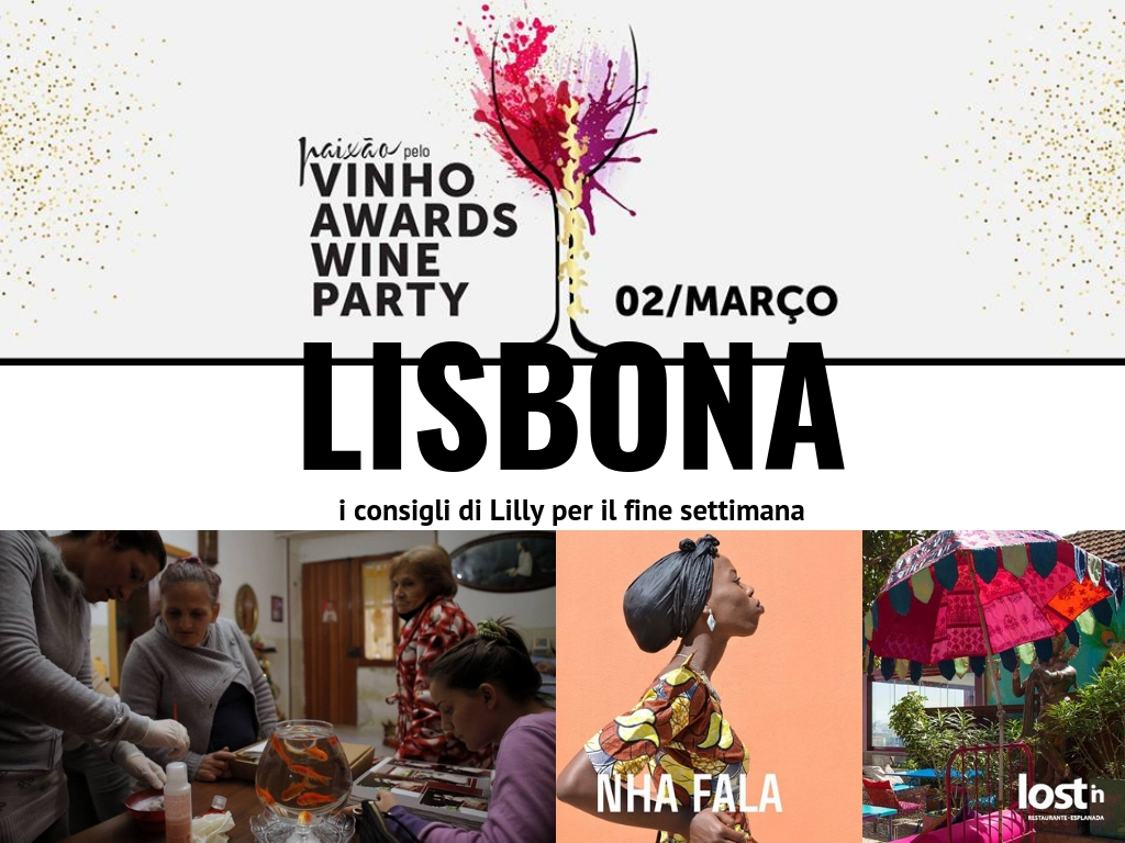 Fine settimana a Lisbona, eventi 1-3 marzo 2019